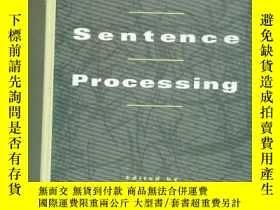 二手書博民逛書店Japanese罕見Sentence Processing日語句