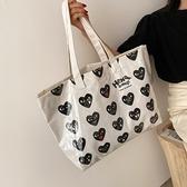 側背包 夏天透明手提大包包2021新款潮韓版時尚網紅女士大容量側背托特包 嬡孕哺 免運