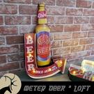 美式復古 led 招牌 壁燈 電池 USB 插頭 啤酒罐 BEER 立體廣告 流行 箭頭 指示牌 裝飾-米鹿家居