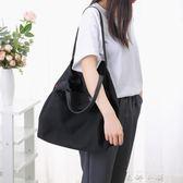托特包 女單肩包牛津布尼龍女包通勤手提包購物袋托特包大包包〖米娜小鋪〗