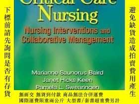 二手書博民逛書店Manual罕見Of Critical Care NursingY364682 Baird, Marianne