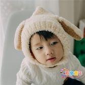 寶寶帽子冬季加絨嬰兒帽子6-12個月1-2歲保暖護耳毛絨帽男女童帽