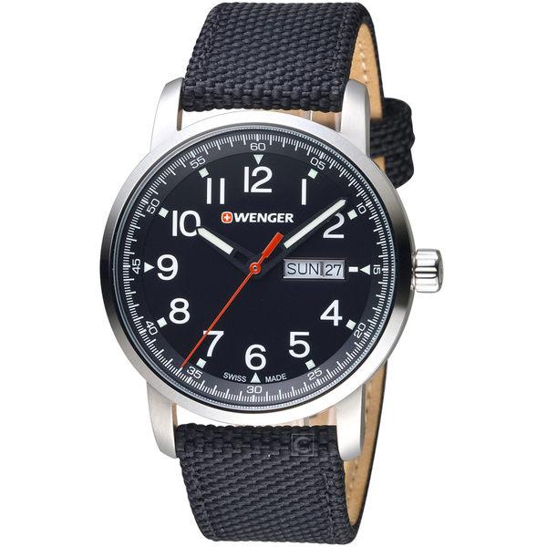 瑞士WENGER Attitude 態度系列簡單生活時尚腕錶  01.1541.105