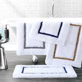 鬆樹林純棉衛生間門口地墊浴室防滑墊衛浴