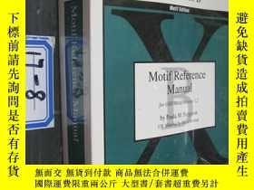 二手書博民逛書店motif罕見reference manual【volume s