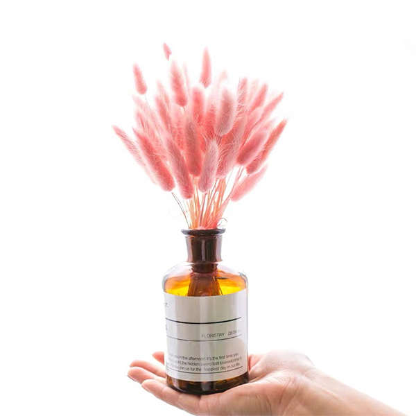 【BlueCat】天然植物粉色兔尾拍攝道具