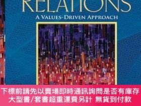 二手書博民逛書店Public罕見Relations: A Values-Driven Approach (4th Edition)