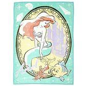 【震撼精品百貨】The Little Mermaid Ariel小美人魚愛麗兒~手繪圖案兒童用單人毛毯M-小美人魚#65858