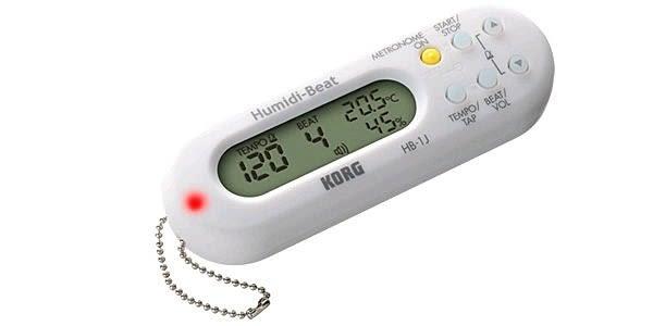 【金聲樂器廣場】全新 Korg Humidi Beat HB-1 節拍器 內建溫濕度計