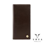 【VOVA】 費城系列12卡長夾(煙草棕)VA118W005BR