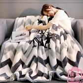 毛毯珊瑚絨冬季加厚保暖毯子單人雙層被子床單【匯美優品】
