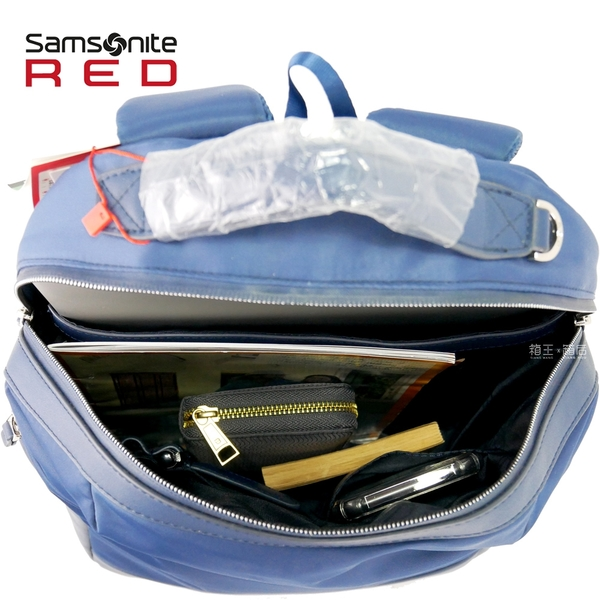 Samsonite Red VENEET 電腦後背包 公事包 後背包休閒包 D06*01001 新秀麗 (藍)