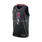 Nike 球衣 Kawhi Leonard Clippers Statement Edition 2020 Jordan NBA Swingman 黑 藍 男款 快艇隊【ACS】 CV9480-011