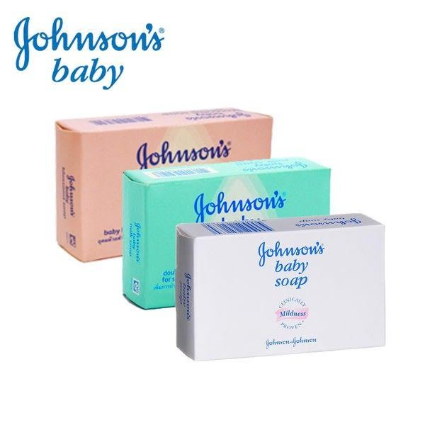 Johnson\'\'s 嬌生 嬰兒香皂三款任選 原味滋潤/花朵馨香/牛奶滋養100g (1入)