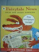 【書寶二手書T9/少年童書_QXH】Fairytale News_Jacqui Hawkins