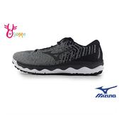 Mizuno男慢跑鞋 WAVE SKY 美津濃跑步鞋 輕量運動鞋 H9271 灰色◆OSOME奧森鞋業