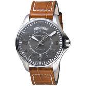 Hamilton KHAKI AVIATION 卡其飛行先鋒80小時機械腕錶 H64615585