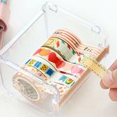 ~BlueCat ~透明盒裝日和紙膠帶切割器