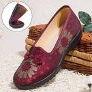 中年鞋老北京布鞋女旗艦店中年鞋奶奶平底中老年鞋子防滑軟底媽媽太太鞋 貝芙莉