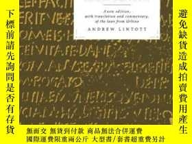 二手書博民逛書店Judicial罕見Reform And Land Reform In The Roman RepublicY