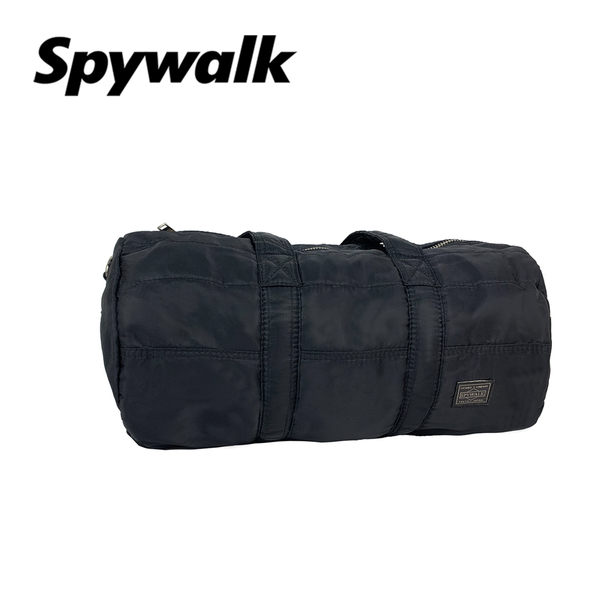 SPYWALK 簡約可愛 圓筒旅行袋 附背帶 NO:2526