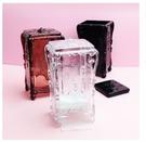 創意歐式化妝棉收納盒 桌面化妝棉收納盒 塑料透明盒子 化妝棉盒 收納盒 NailsMall