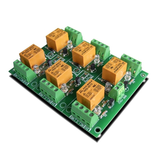 [2美國直購] denkovi 繼電器板 6 Channel relay board for your Arduino or Raspberry PI 5V