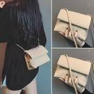 斜背包 2021新款春夏季今年流行夏天小眾設計感潮百搭軟皮斜背小包女包包 晶彩 99免運