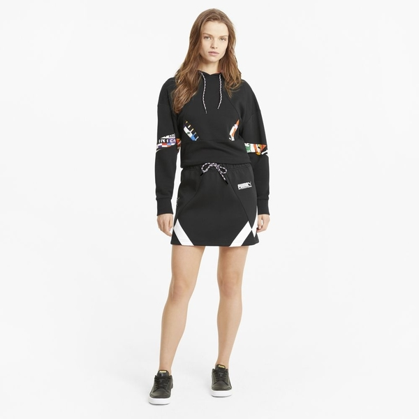 Puma 黑色 棉質 短裙 女款 NO.H3207【新竹皇家 59968901】