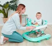 學步車 嬰兒學步車防o型腿女孩多功能防側翻男寶寶走路手推車可坐起步車