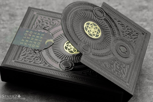 【USPCC 撲克】HERETIC Noctis playing cards