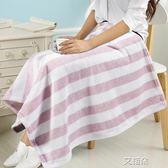 小毛毯蓋腿午睡毯辦公室蓋毯加厚單人膝蓋毯兒童嬰兒珊瑚絨毯夏季     艾維朵