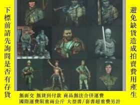 二手書博民逛書店Scale罕見Model Handbook: Figure modelling 22-比例模型手冊:圖形建模22奇