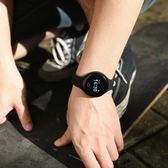 智慧手環手錶男學生潮流藍牙華為蘋果通用多功能跑步運動電子錶女