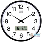 掛鐘 靜音掛鐘客廳個性鐘表現代簡約鐘家用石英鐘圓形時鐘創意掛表
