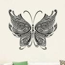 創意無痕壁貼 花紋蝴蝶《生活美學》