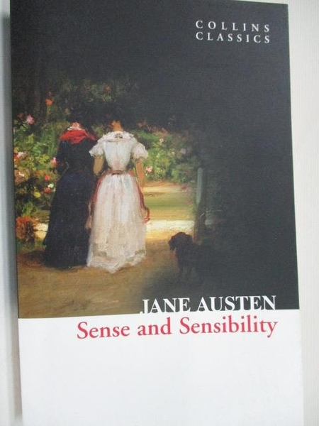 【書寶二手書T1/原文小說_BBA】Sense and Sensibility_Jane Austen