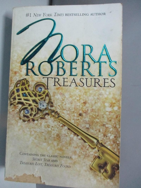 【書寶二手書T9/原文小說_ADT】Treasures: Secret Star / Treasures Lost / Treasures Found_Roberts, Nora