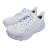 送贈品(C1) HOKA ONE ONE女鞋 Clifton 7超緩震慢跑鞋 運動鞋HO1110509WWH白 [陽光樂活]
