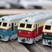 火車頭模型合金仿真蒸汽內燃機車綠皮火車合金汽車模型玩具回力車限時八九折
