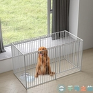 寵物圍欄狗狗籠子犬狗籠中型犬狗柵欄狗狗圍欄柵欄室內【千尋之旅】