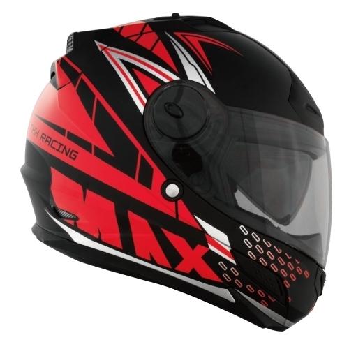 【東門城】THH TS-43A+ MAX (平黑紅)全罩式安全帽 雙鏡片
