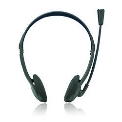 ☆愛思摩比☆ aibo MIC-02多媒體耳機麥克風 電腦遊戲專用耳機麥克風(MIC-02) 黑色
