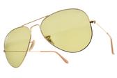 RayBan 太陽眼鏡 RB3025 90644C (金-綠鏡片) 經典人氣款 飛官墨鏡 # 金橘眼鏡
