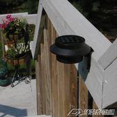 太陽能燈戶外 家用led花園庭院路燈室外迷你陽臺屋檐門柱圍墻壁燈  潮流前線