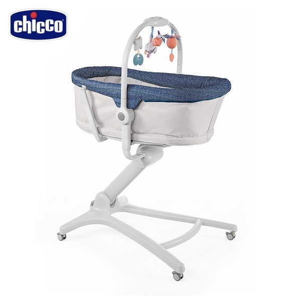 【愛吾兒】Chicco BabyHug多功能成長安撫嬰兒床-恆星藍