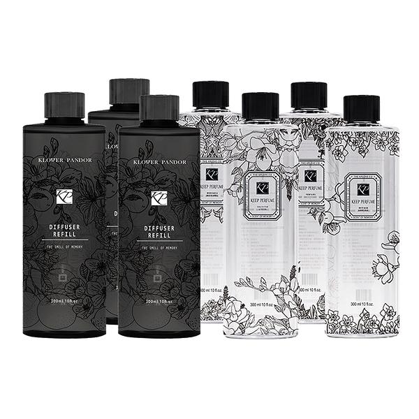 KEEP PERFUME 女王香氛 擴香補充瓶 300ml【BG Shop】多款可選
