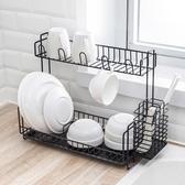 瀝水架碗碟筷架水槽多層置物架YJT 暖心生活館