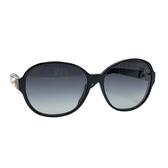 【台中米蘭站】全新品 CHANEL 珍珠鑲飾膠框墨鏡/太陽眼鏡(黑)
