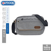 OUTDOOR 側背包  都很俊系列  淺灰  休閒斜肩包  OD161165GY01  MyBag得意時袋